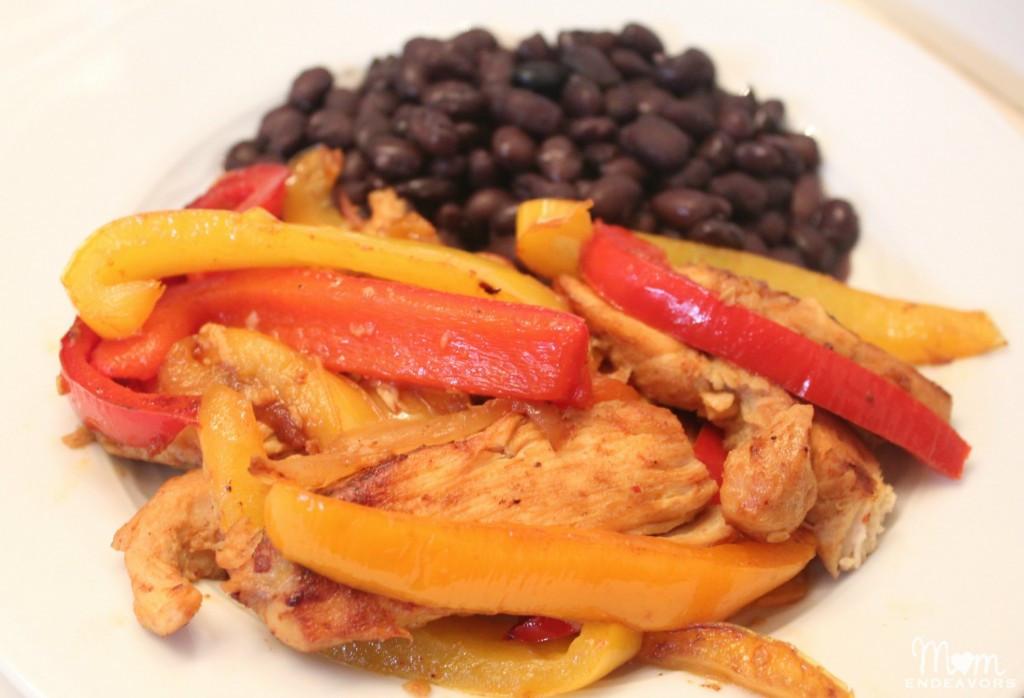 Low Fat Chicken Fajitas  Easy Chicken Fajitas