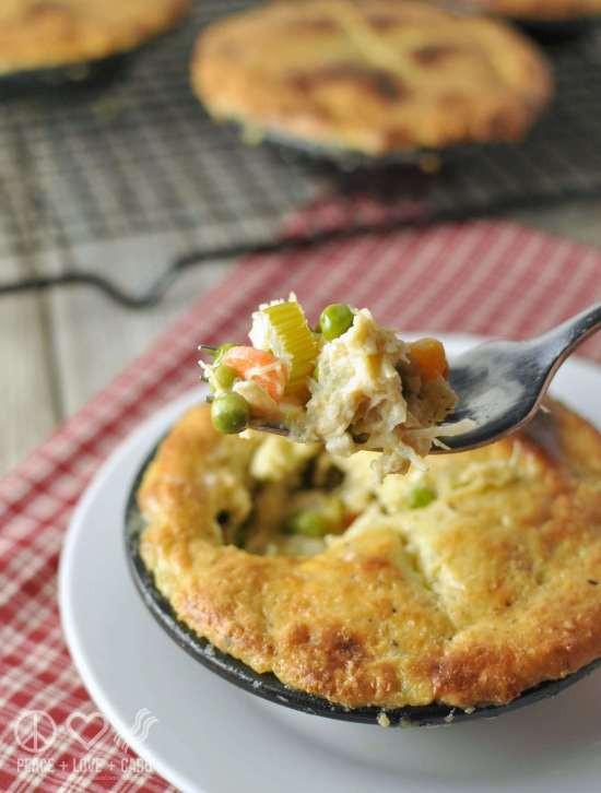 Low Fat Chicken Pot Pie  Low Carb Chicken Pot Pie Gluten Free