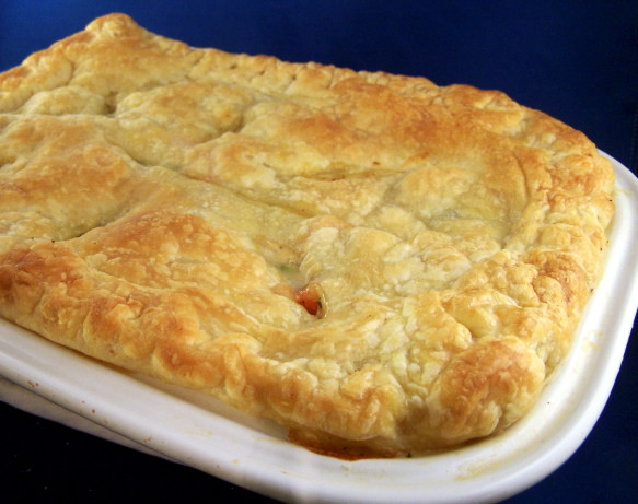 Low Fat Chicken Pot Pie  Low Fat Chicken Pot Pie With Puff Pastry Recipe Food