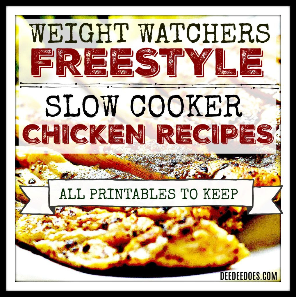 Low Fat Chicken Recipes Weight Watchers  Weight Watchers Freestyle Slow Cooker Chicken Recipes low
