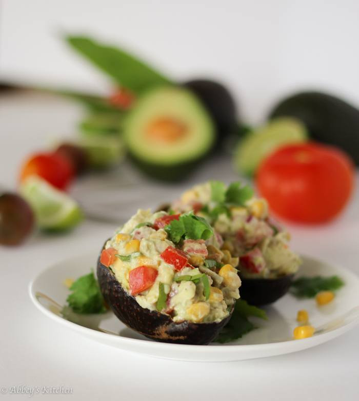 Low Fat Chicken Salad  Healthy Avocado Chicken Salad Mexican Themed