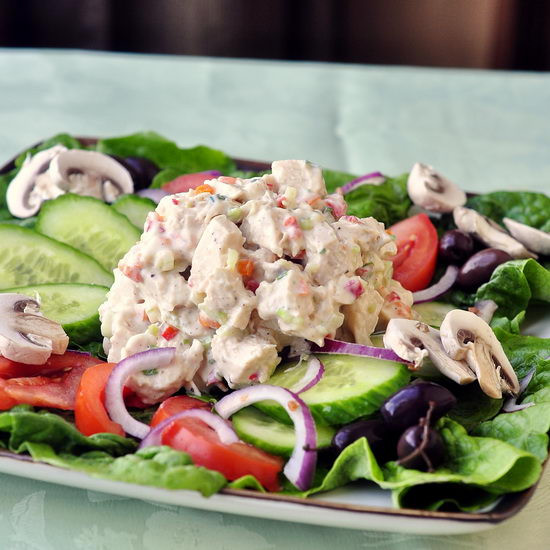 Low Fat Chicken Salad Recipe  Rock Recipes The Best Food & s from my St John s