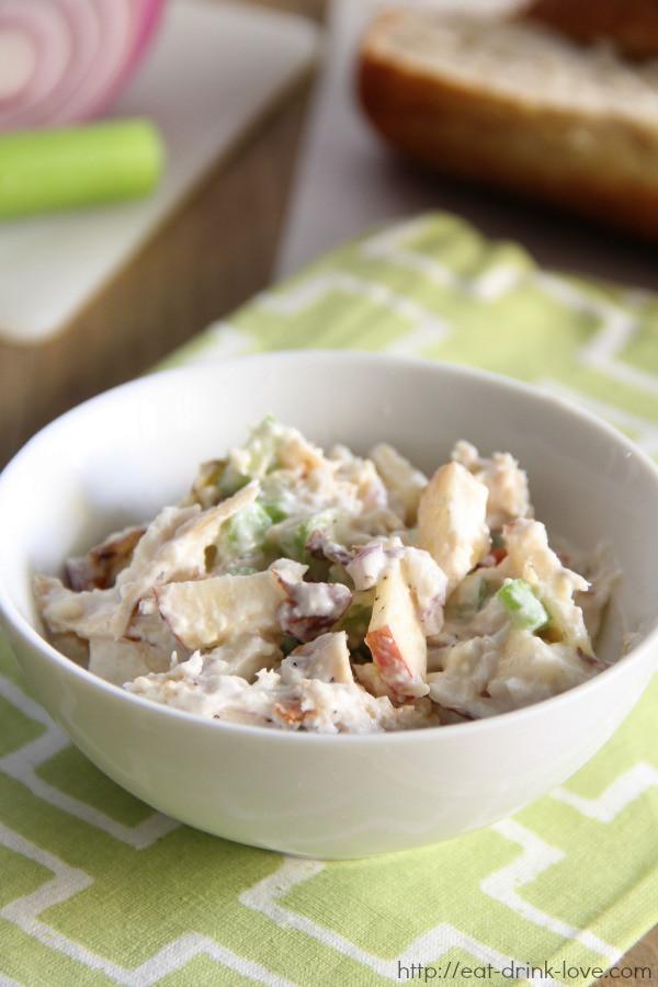 Low Fat Chicken Salad Recipe  Low Fat Chicken Salad Eat Drink Love