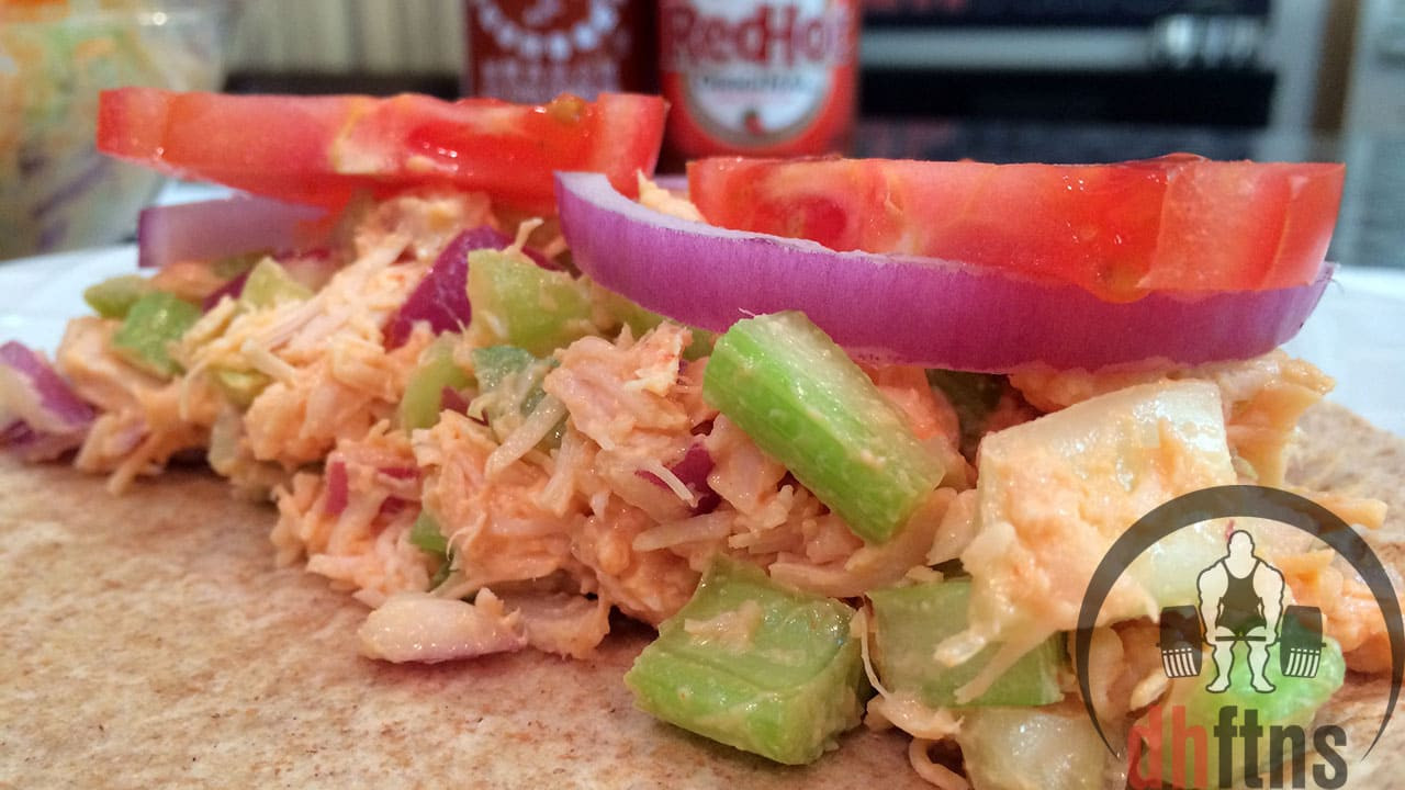 Low Fat Chicken Salad Recipe  Spicy Canned CHICKEN Salad Recipe Healthy Low Fat