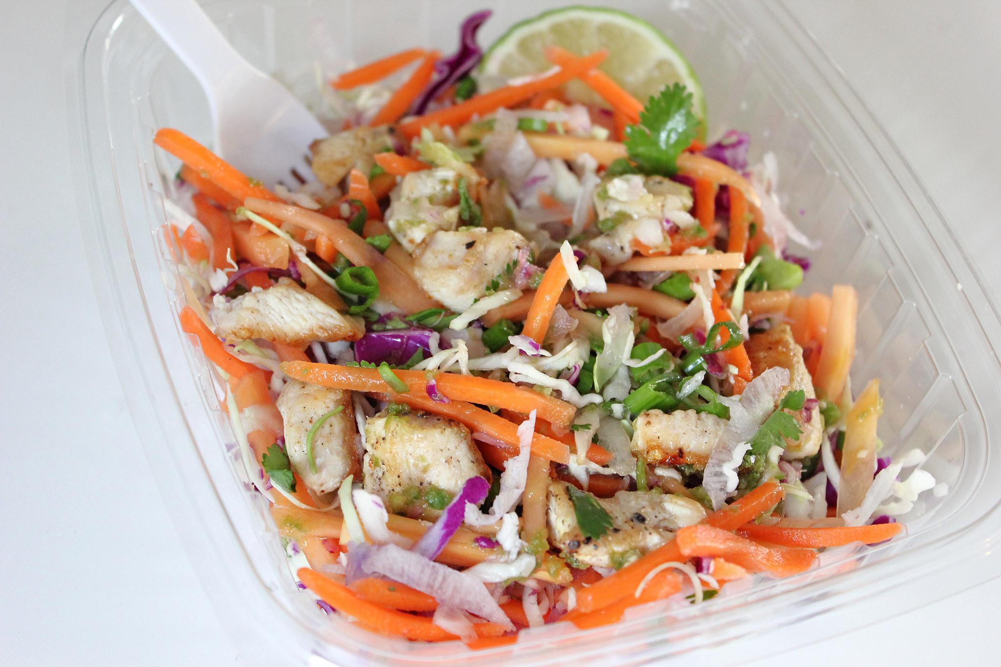 Low Fat Chicken Salad Recipe  Trader Joe s Low Calorie Citrus Chicken Salad Recipe