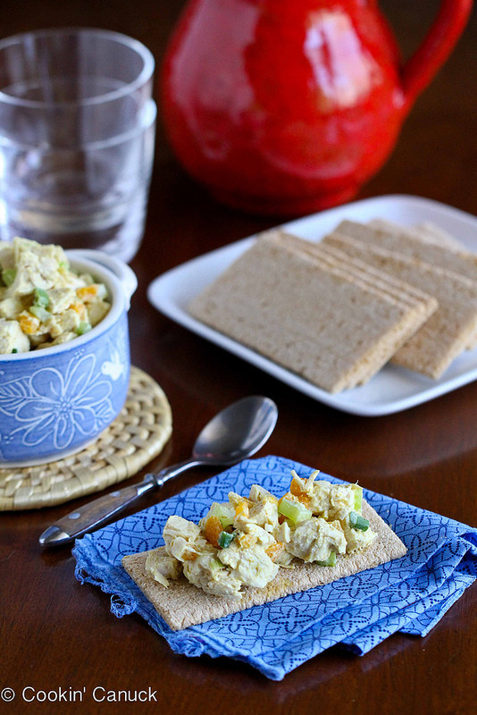 Low Fat Chicken Salad Recipe  Cookin Canuck