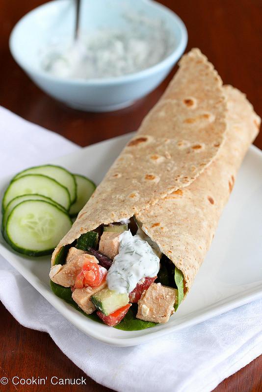 Low Fat Chicken Salad Recipe  Low Fat Greek Chicken Salad Wrap Recipe