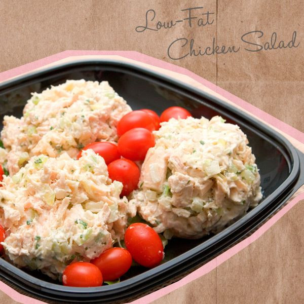 Low Fat Chicken Salad  12 Healthy Brown Bag Lunch Ideas Youbeauty