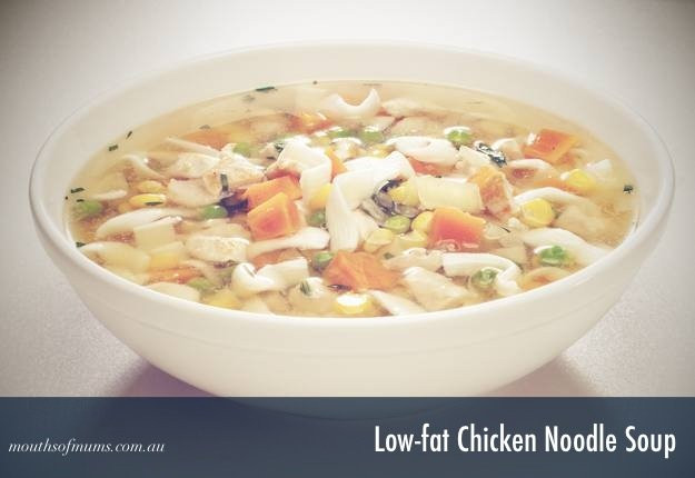 Low Fat Chicken Soup  Hearty & Healthy WINTER SOUPS you can cook up right now