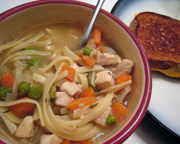 Low Fat Chicken Soup  Low Fat Chicken Noodle Soup For 2 Recipe Food