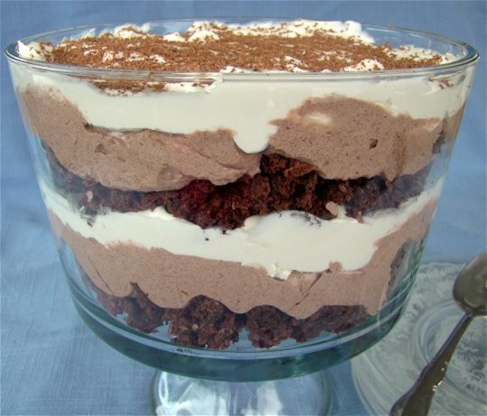 Low Fat Chocolate Desserts  Low Cal Low Fat Easy Chocolate Trifle Recipe Food