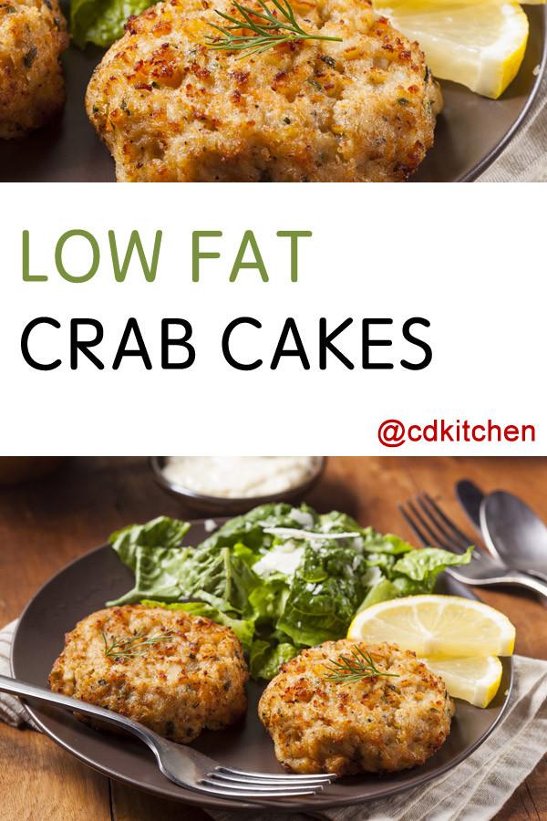 Low Fat Crab Cakes  Low Fat Crab Cakes Recipe