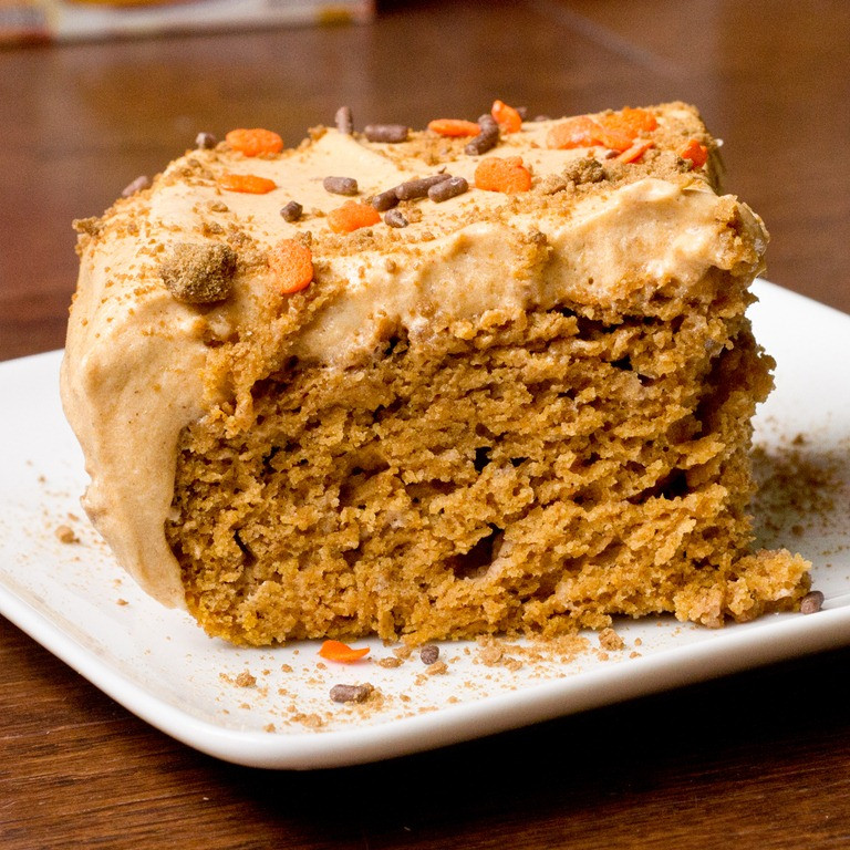 Low Fat Dessert Recipes  Easy Low Fat Pumpkin Sheet Cake