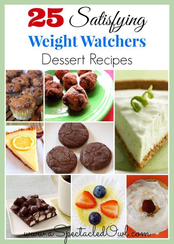 Low Fat Desserts Weight Watchers  25 Satisfying Weight Watchers Dessert Recipes