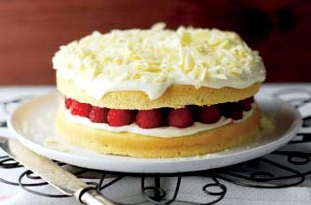 Low Fat Desserts Weight Watchers  White chocolate cake low fat desserts