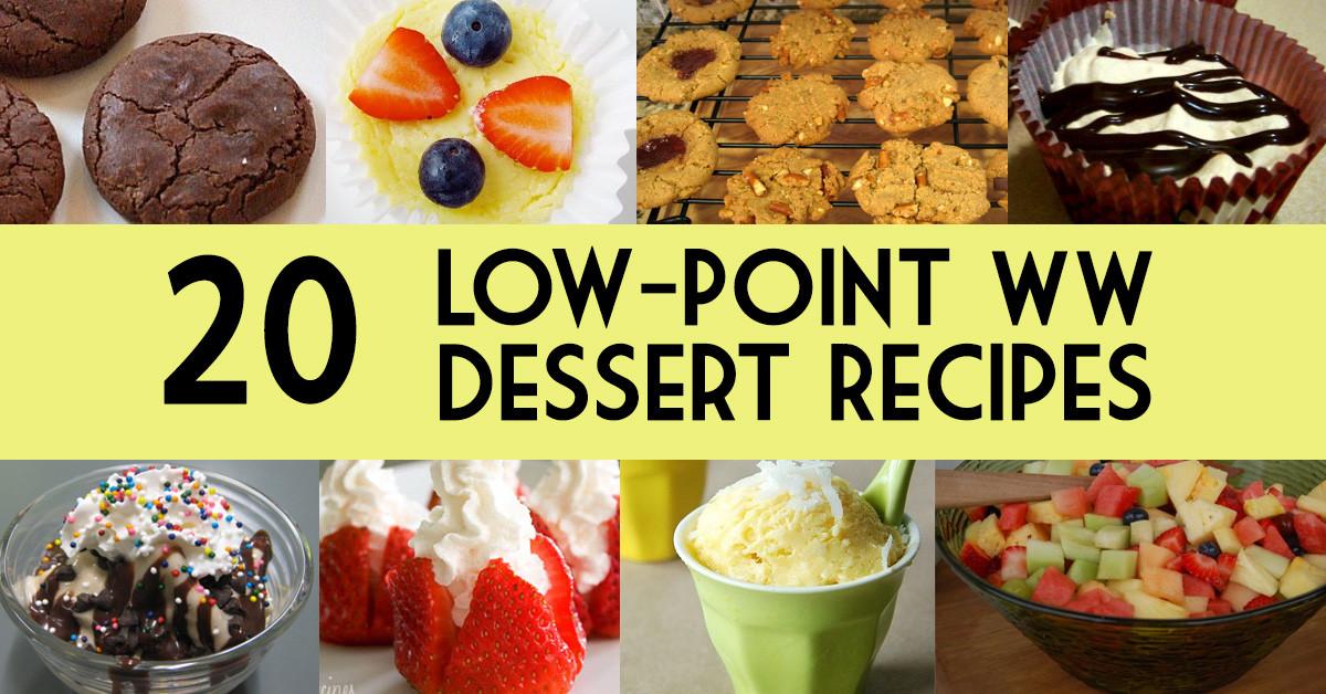 Low Fat Desserts Weight Watchers  20 Low Point Weight Watchers Dessert Recipes