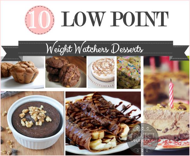 Low Fat Desserts Weight Watchers  10 Low Point Weight Watchers Desserts The Girl Creative