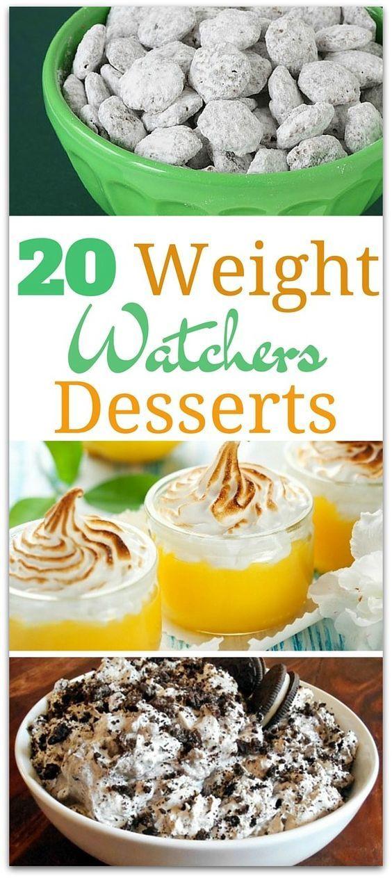Low Fat Desserts Weight Watchers  20 Delicious Weight Watchers Desserts