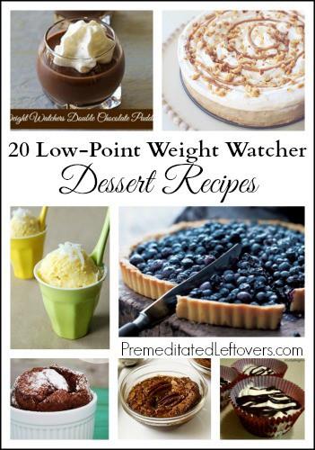 Low Fat Desserts Weight Watchers  20 Weight Watchers Dessert Recipes Premeditated Leftovers