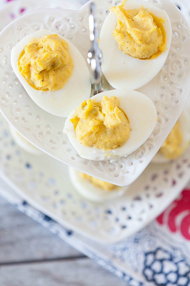 Low Fat Deviled Eggs  The Best Deviled Eggs Healthy Low Fat Food Done Light