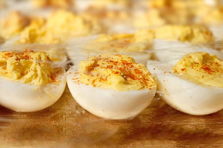Low Fat Deviled Eggs  A Healthier Deviled Eggs Recipe
