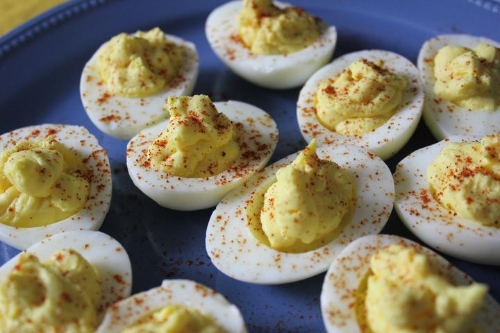 Low Fat Deviled Eggs  Recipe Low Sodium Deviled Eggs
