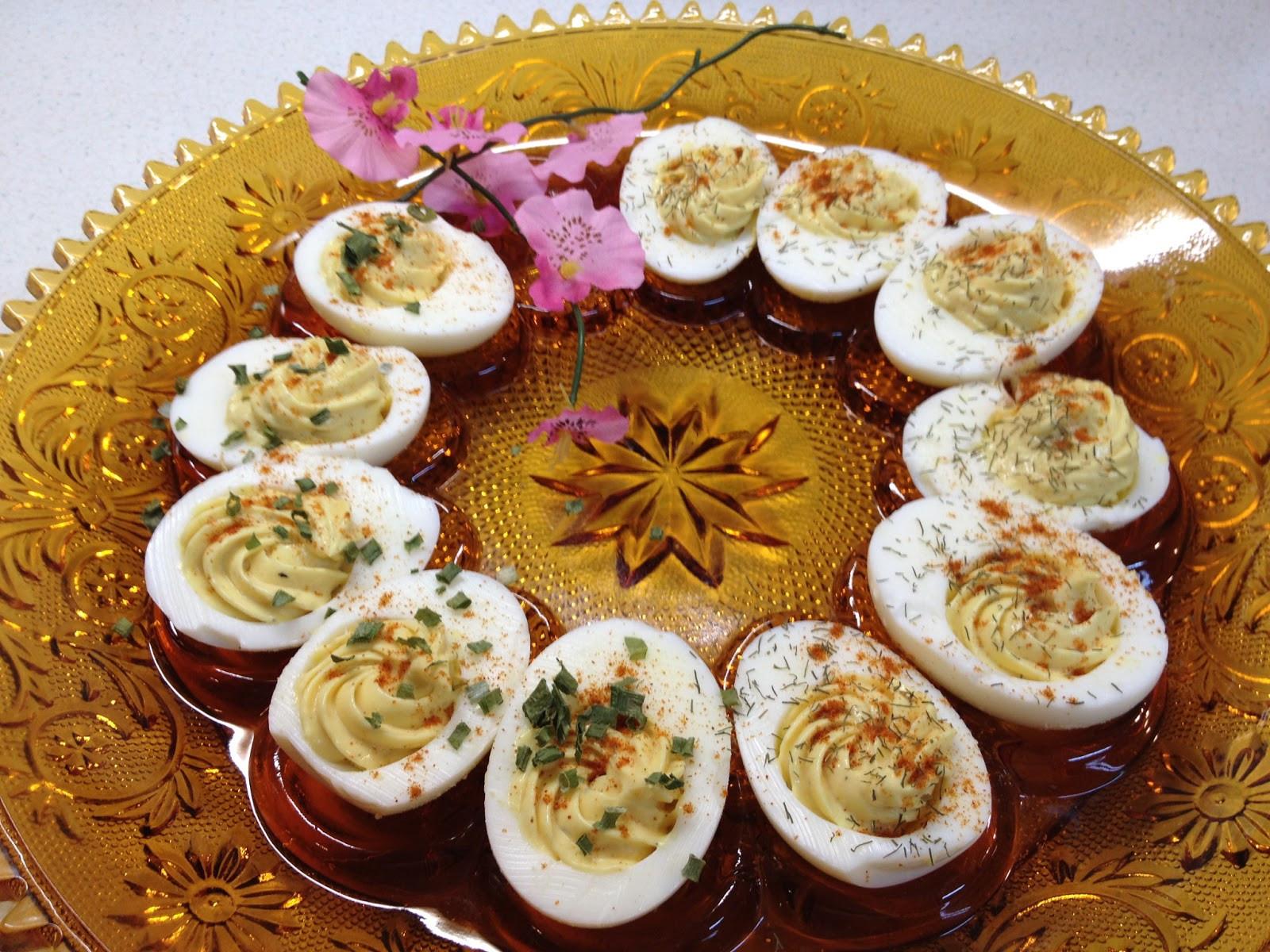 Low Fat Deviled Eggs  Cocina De Don Pedro Yummy Low Fat Deviled Eggs