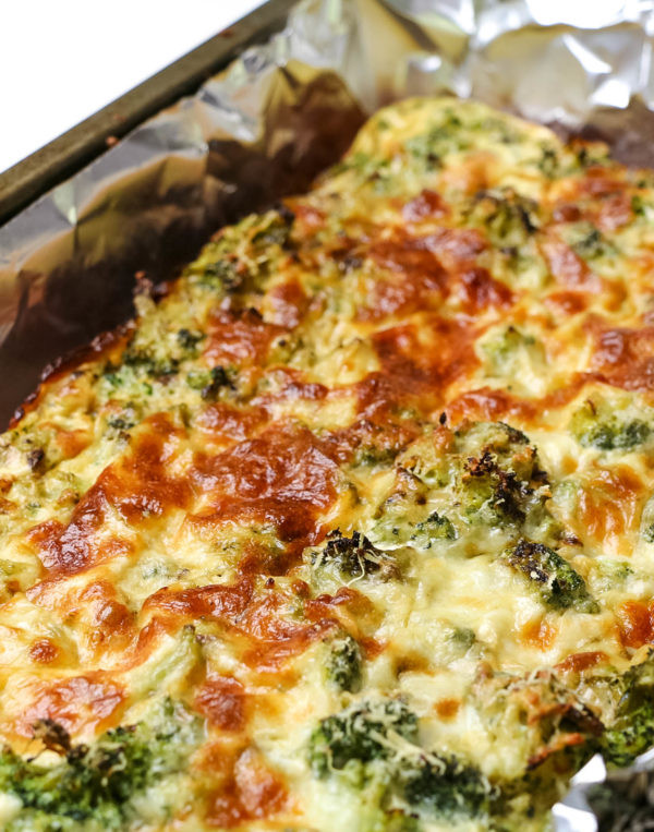Low Fat Dinner  Low Calorie Cheesy Broccoli Quiche Low Carb Gluten Free