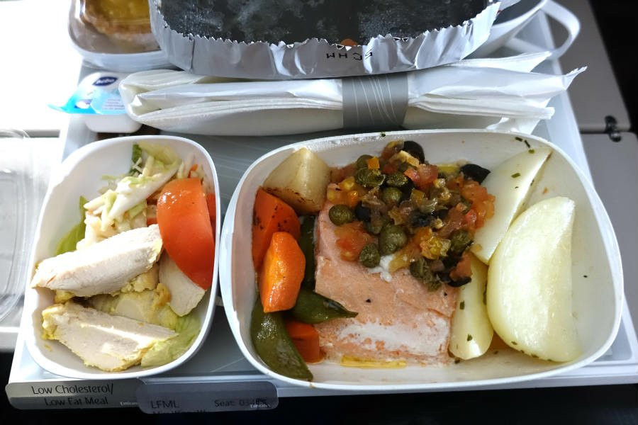 Low Fat Dinner  Emirates Low Fat & Low Cholesterol Meal Travel with Winny