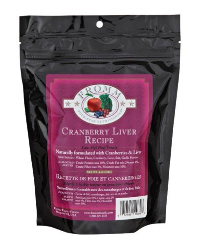 Low Fat Dog Food Recipes  Fromm Family Foods Four Star Cranberry Liver Dog Treats
