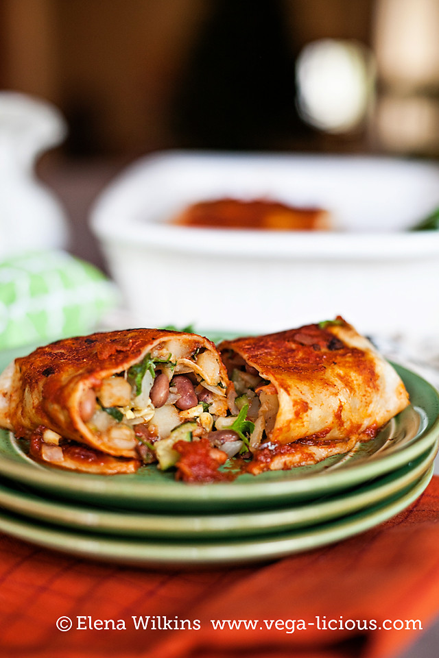 Low Fat Enchiladas  Low Fat Vegan Bean Enchilada Recipe