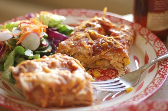 Low Fat Enchiladas  Smokey Low Fat Chicken Enchiladas Lighter Healthier
