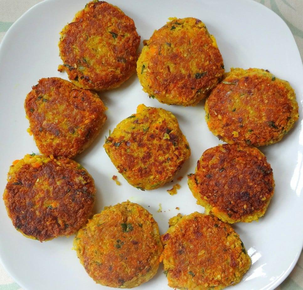 Low Fat Food Recipes  Low Fat Vegan Falafel Recipe The Glowing Fridge