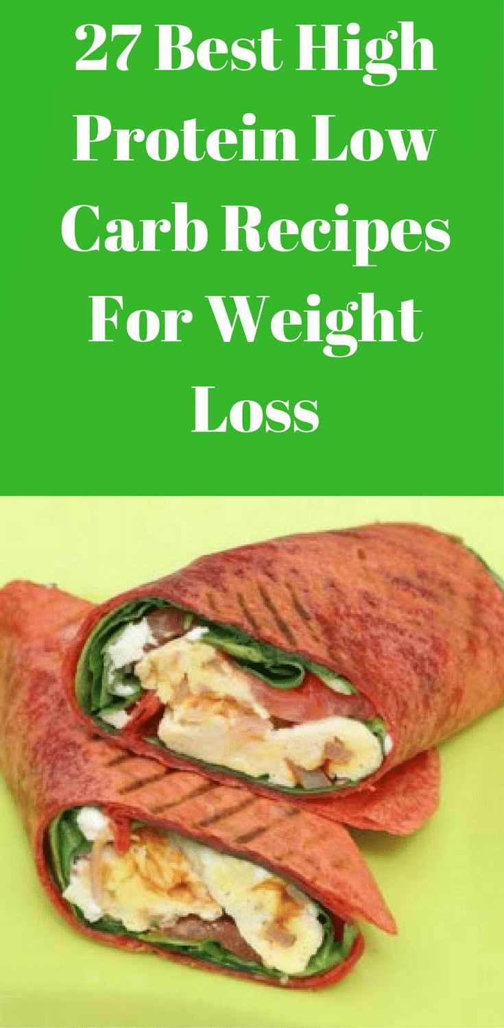 Low Fat High Protein Recipes  Looking for the 27 best high protein low carb recipes for