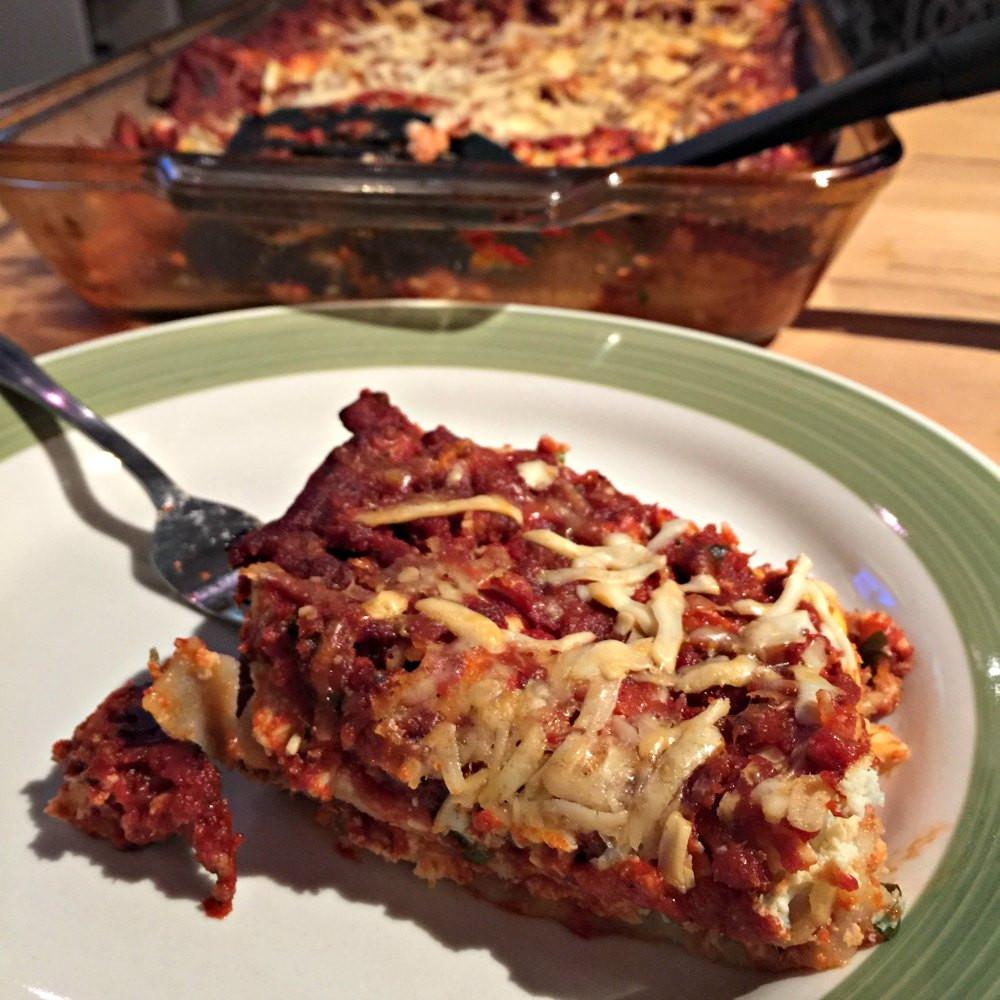 Low Fat Lasagna  Tasty Low Fat Lasagna RecipeSleep Eat Move