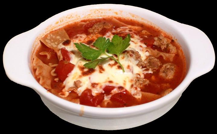 Low Fat Lasagna  Low Fat Lasagna Soup