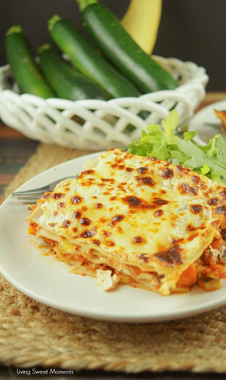Low Fat Lasagna  Low Fat Ve arian Lasagna Recipe Living Sweet Moments
