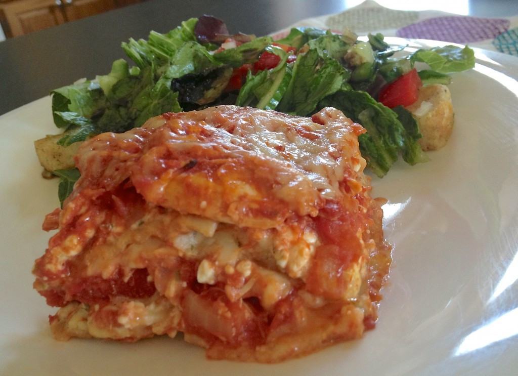 Low Fat Lasagna  What I Ate Wednesday WIAW 5