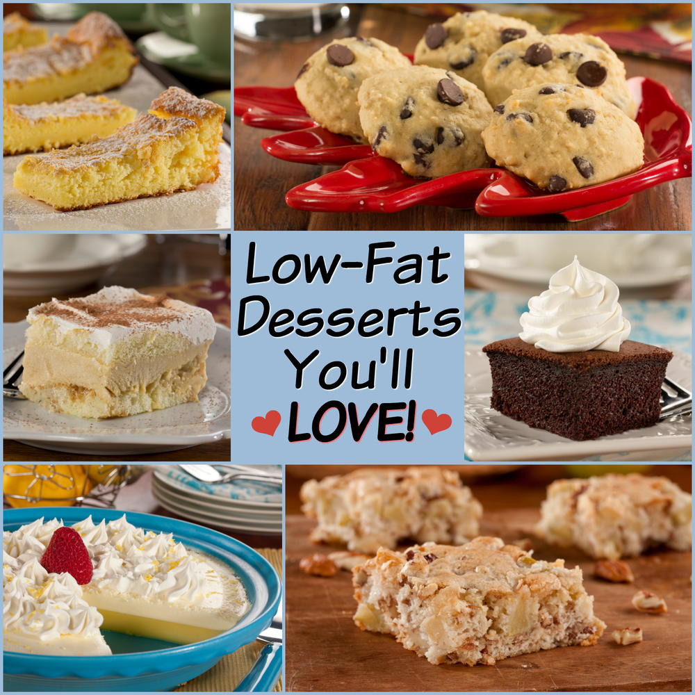 Low Fat Low Calorie Desserts  14 Low Fat Desserts You ll Love