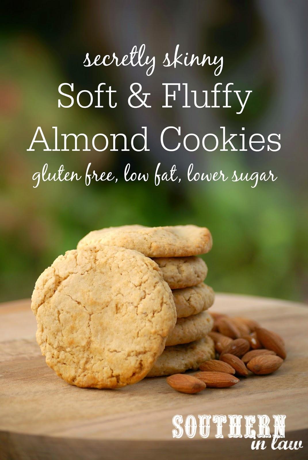Low Fat Low Sugar Cookies  Southern In Law Recipe Secretly Skinny Almond Meal Cookies