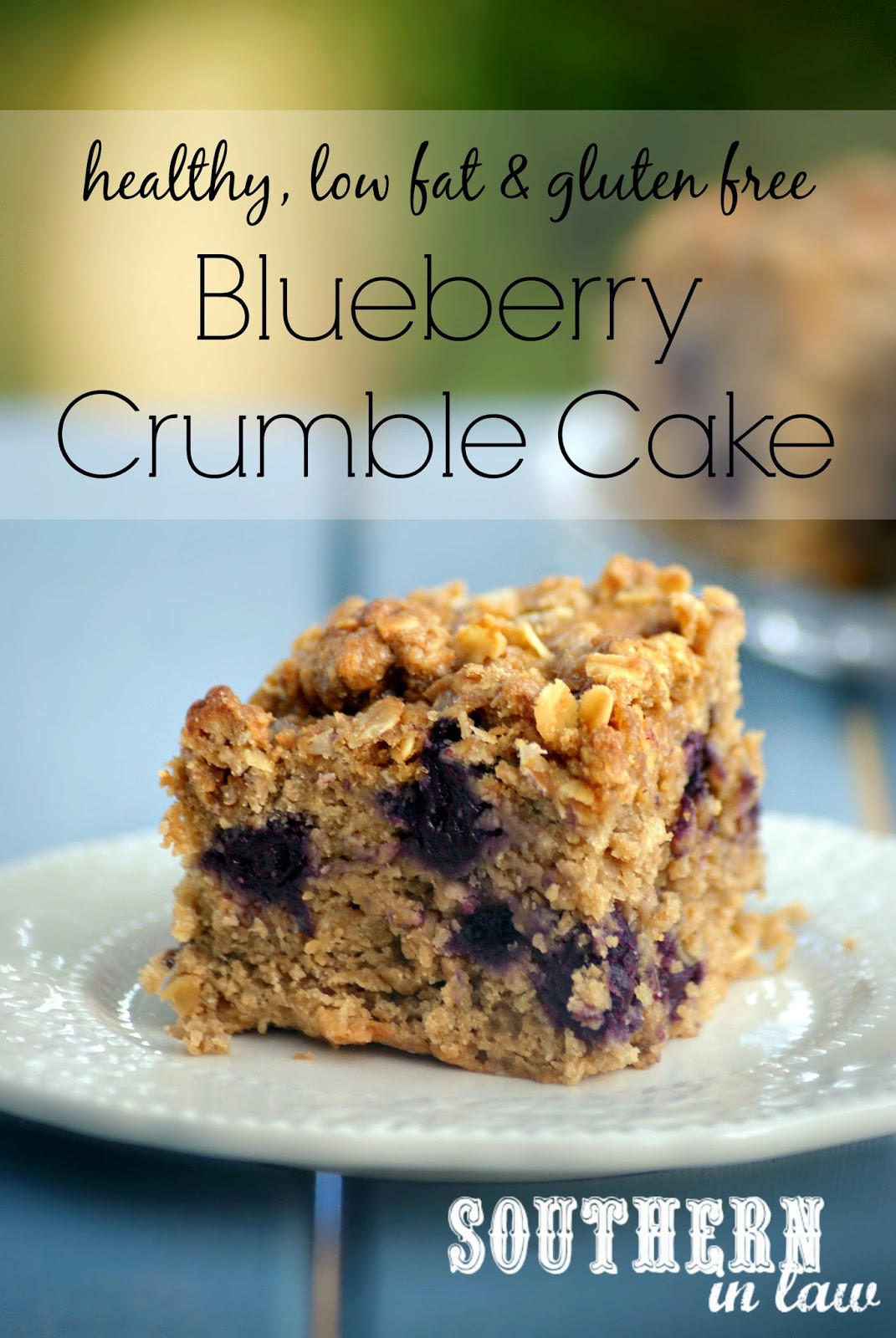 Low Fat Low Sugar Recipes  Southern In Law Recipe Healthy Blueberry Crumble Cake