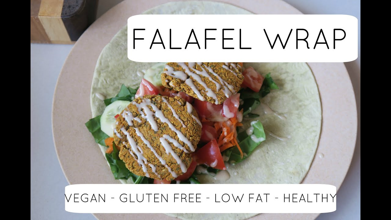 Low Fat Lunch Recipes  LOW FAT FALAFEL WRAP RECIPE