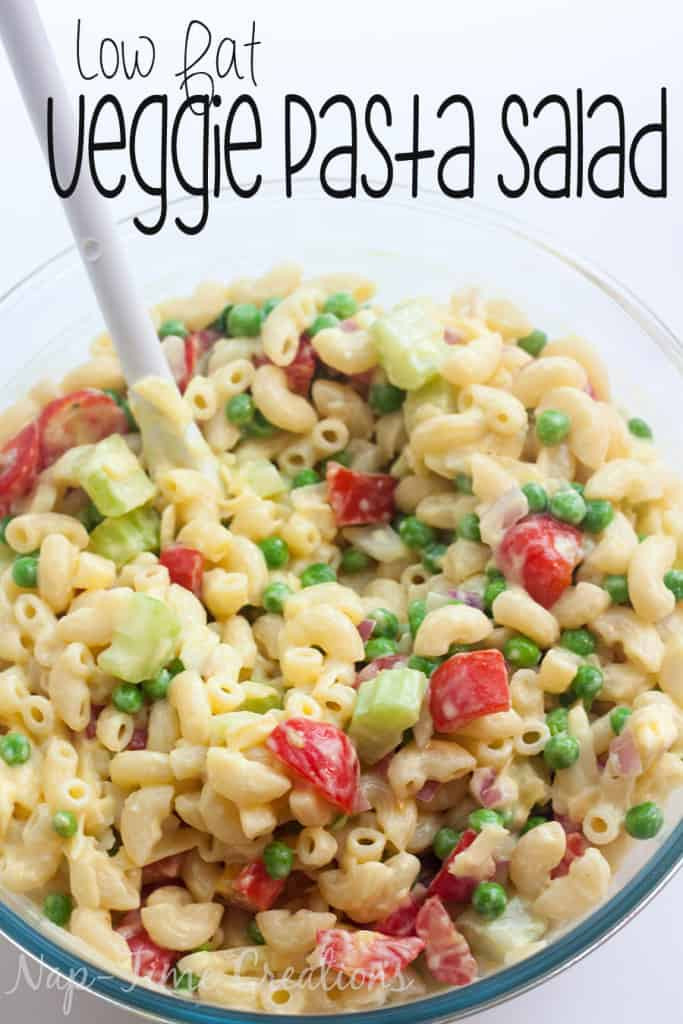 Low Fat Macaroni Salad  25 Pasta Salad Recipes Love Pasta and a Tool Belt