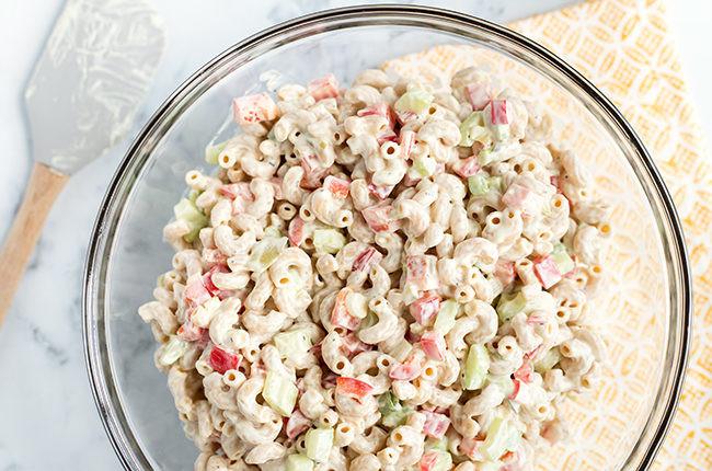 Low Fat Macaroni Salad  Recipe Low Fat Skinny Macaroni Salad