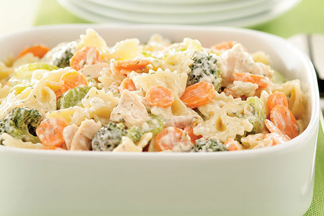 Low Fat Macaroni Salad  Low Fat Summertime Tuna Pasta Salad Kraft Recipes
