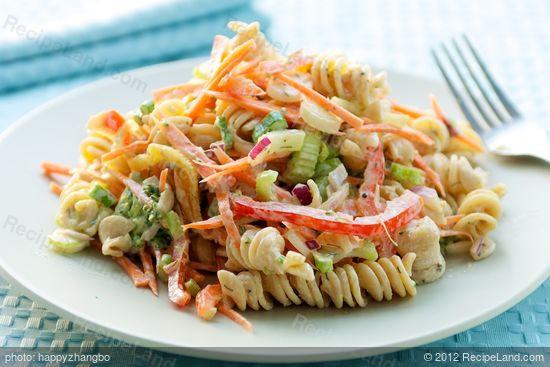 Low Fat Macaroni Salad  Low Fat Creamy Pasta Salad Recipe