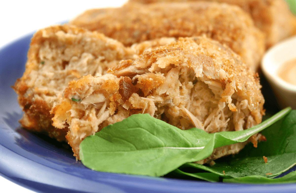 Low Fat Meal Recipes  Parmesan Tuna Patties low fat low carb Recipe
