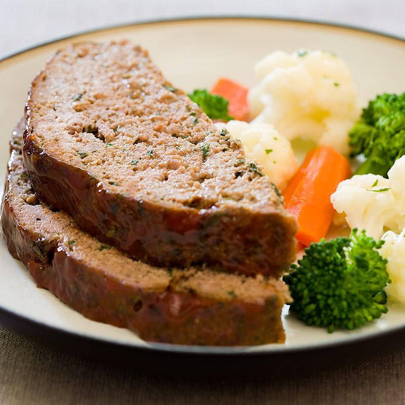 Low Fat Meatloaf  Low Fat Meatloaf