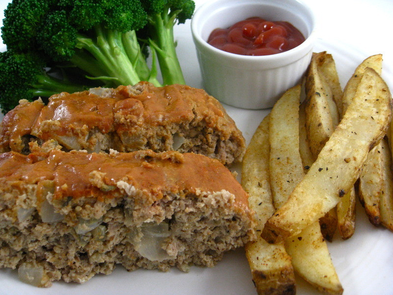 Low Fat Meatloaf  Ball Park Turkey Meatloaf Delicious Low Calorie and Low