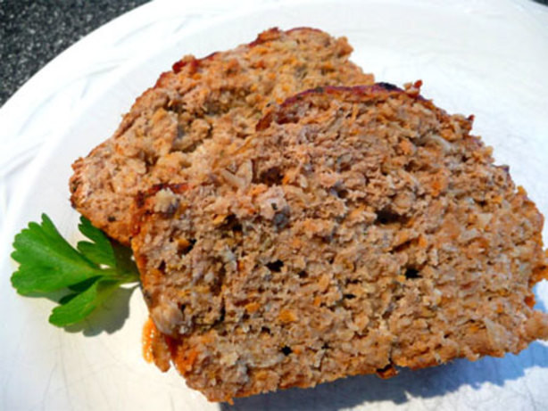 Low Fat Meatloaf  Healthy Turkey Meat Loaf Low Fat Carb And Glycemic